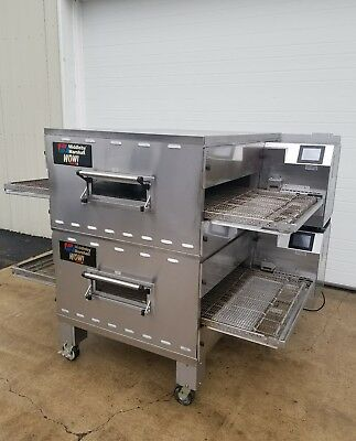"Middleby Marshall Wow!!! Double Stack Conveyor Ovens 32"" Belt Width Ps640 Ps740"