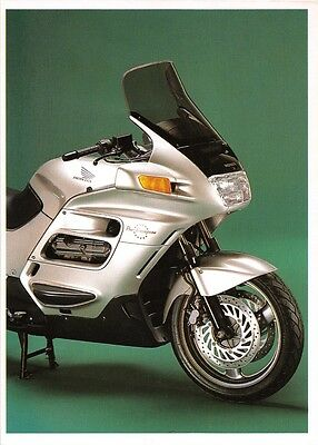 HONDA PAN EUROPEAN ST 1100 4 CYLINDER SUPER TOURER 1100cc MOTORCYCLE POSTCARD