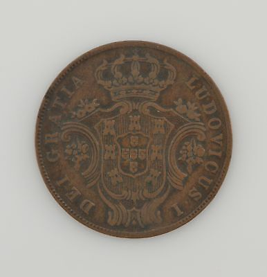 1880 Azores 5 Reis KM#13 (40,000 Minted) *169