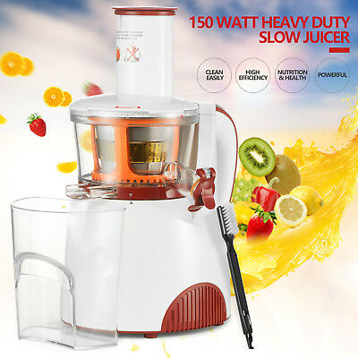 BN Heavy Duty Slow Juicer Machine Fruit Vegetable Vitamin Extractor  150W