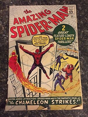 "The Amazing Spider-Man ""the chameleon strikes"" Comic Book"