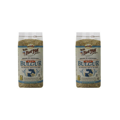2X Bob's Red Mill Whole Grain Red Bulgur Easy To Cook Cereals & Breakfast Foods