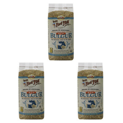 3X Bob's Red Mill Whole Grain Red Bulgur Easy To Cook Cereals & Breakfast Foods