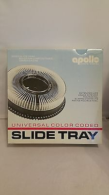 Apollo Audio Visual Vintage Universal Black Slide Tray 3280 Pre-Owned