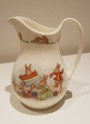 Bunnykins Jug with Children playing scene