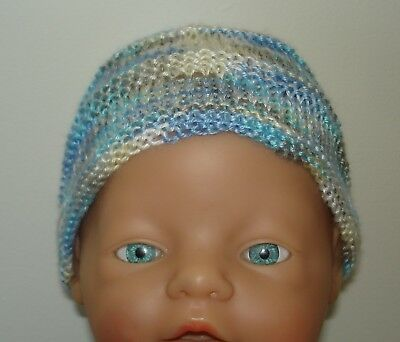 Hand Knitted Baby Hat for Small Newborn Baby