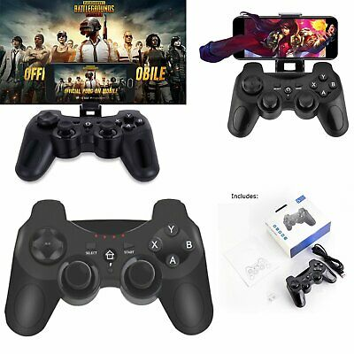 BT Wireless Gamepad Remote Game Controller Joystick Bracket S100 For PUBG Mobile
