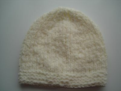 Hand Knitted Baby Hat for Baby, approx 3 mths
