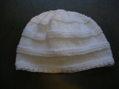 Hand Knitted Baby Hat for Newborn Baby