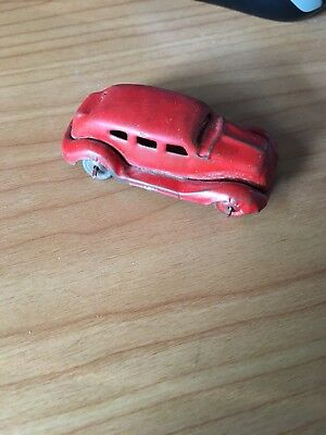 Vintage Tin Toy Car - Looks to be an early American model - Made in Japan