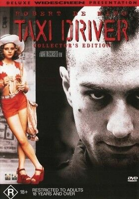 Taxi Driver DVD | Collector's Edition Regions 2,4 Brand New |