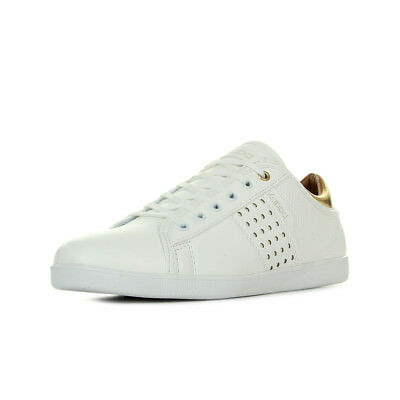 Chaussures Baskets Kappa femme Lamaze Wo White Gold taille Blanc Blanche Cuir