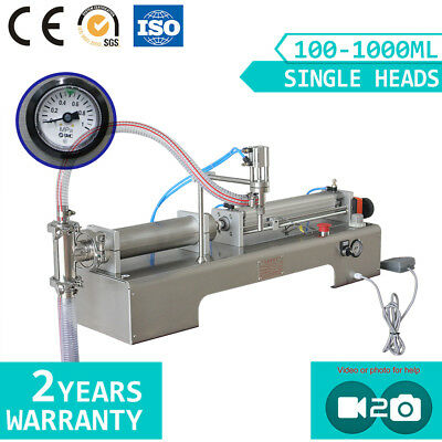 One Head Semi-auto Oil Liquid Filling Foot Pedal Filler Machine For Packing 5day