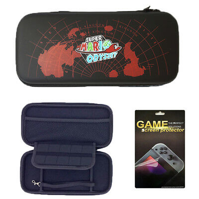double zipper Hard EVA Carrying Case for Nintendo Switch Slim Bag Storage Travel