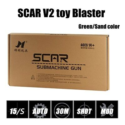 JinMing SCAR V2 Gel Ball Blaster Mag-fed Water Crystal Bullet Darts Toy AU STOCK