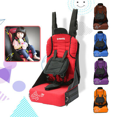Portable Foldable Safety Children Kid Car Seat Toddler Convertible Booster Chair