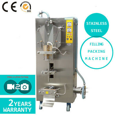 Full Stainless Steel Automatic Sachet Water Liquid Filling Packing Machine