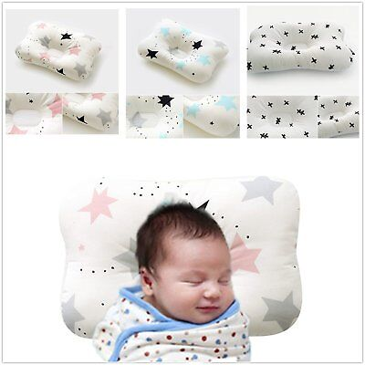 Newborn Baby Pillow 3-Dimentional Air Mesh and Washable Cotton Adjustable Height