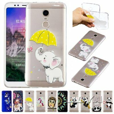 For Xiaomi Phone case elephant OWL Unicorn panda ultra clear light weight Gel