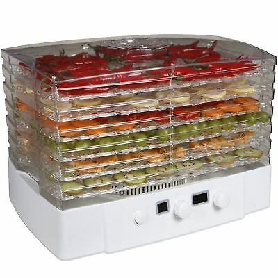 Sohler Electric Food Dehydrator Digital Machine 6 Tray Fruit Meat Fish Veg Dryer