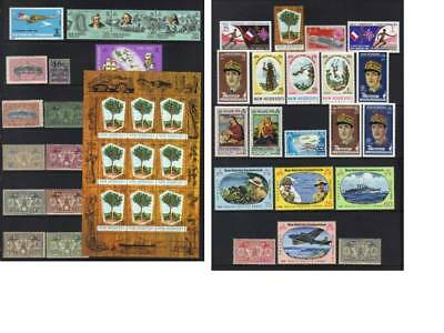 (310) New Hebrides Mh Collection Incl Sets