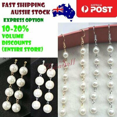 7mm 12mm Pearl Tassels Dangles Earring Stars Earrings Tassle Quality Pearls