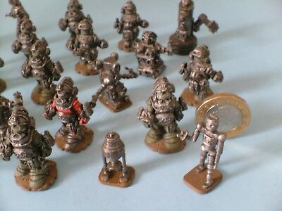 Warhammer Ral Partha ? Miniature Metal figures Superbly painted all Around
