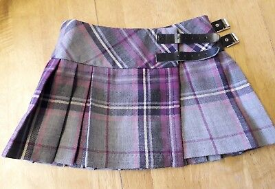 100% New Wool John Morrison Kilt Toddler Age 3-4 Immaculate Condition
