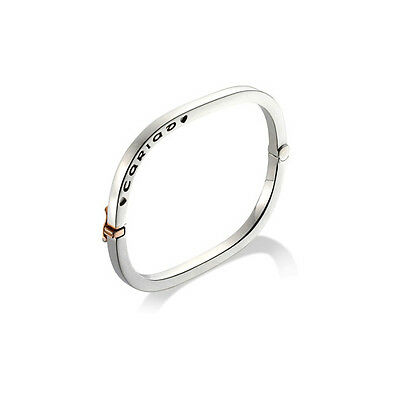 BRAND NEW Clogau Silver & Rose Gold Cariad Bangle **SAVE OVER 65% OFF RRP £450**