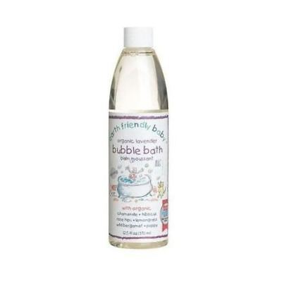 Earth Friendly Baby Calming Lave Bubble Bath [300ml] (5 Pack)