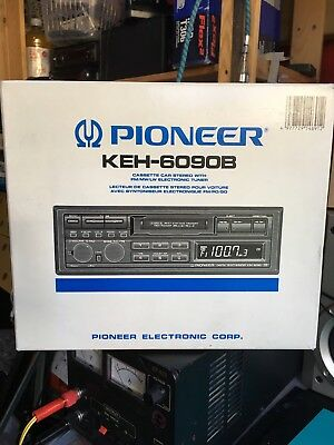 Pioneer Keh-6090 Rare In This Condition Vintage 80's Radio Cassette FREE P&P