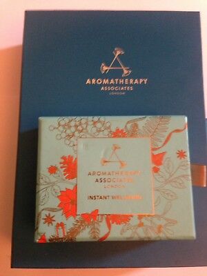 Aromatherapy Associates - Deep Rose deluxe trio Gift set plus  well-being set.
