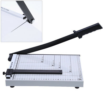 A4 Paper Photo Guillotine Cutter Trimmer Machine Ruler Home Office Professional