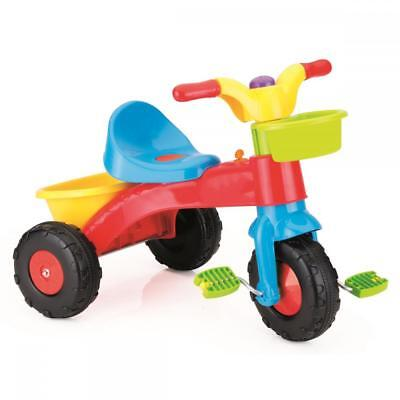 Dolu Toddler My First Ride On Three Wheel Trike Pedals Multicolour 2 Years +