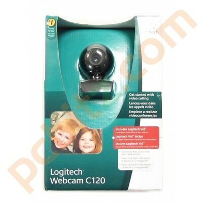 Logitech Webcam C120 (New)