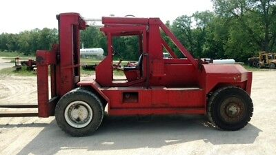 Bristol 80,000Lb Riggers Forklift With Hydraulic Boom