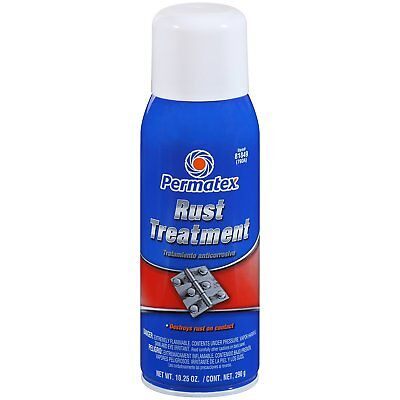 New! PERMATEX 81849 RUST TREATMENT Rusty Metal Primer Destroy Prevent RUST 10 oz