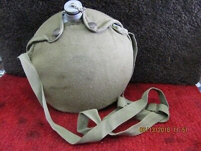 Vintage Boy Scouts Of America National Council AluminumCanteen W/canvas Cover