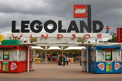 2 x E-TICKETS FOR LEGOLAND WINDSOR RESORT - SATURDAY 7 JULY 2018 - FREE POSTAGE