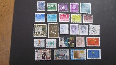 Netherlands selection of 25  good/fine used all periods
