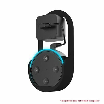 2Pcs For Echo Dot 2 Wall Mount Stand Bracket Protector Clips Plug In Living Room