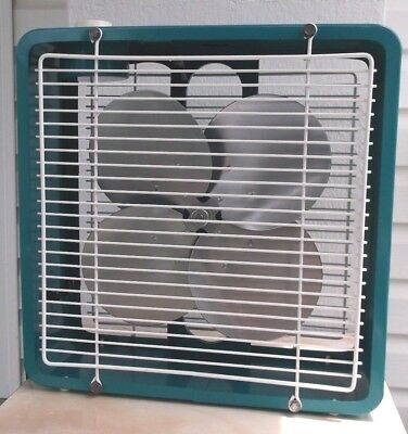 """Antique/vintage/mid-Century Modern 12"""" Electric  Fan-Professionally Restored"""