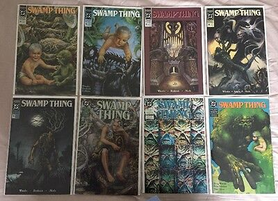 Swamp Thing #95 - #102 Comics 1990 DC 8 Comics In Total