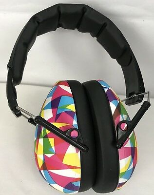 Baby Banz earBanZ Infant Hearing Protection Multi Color Geometric