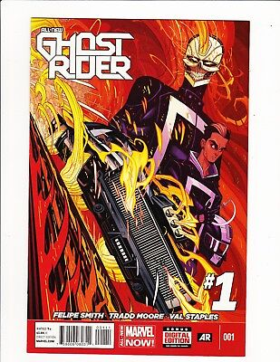 Ghost Rider #1 2014 1St App Robbie Reyes Agents Of Shield Tv Show Key Character!