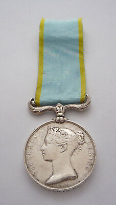 Crimea Medal Scots Fusilier Guards Died At Scutari 1855 Impressed Naming