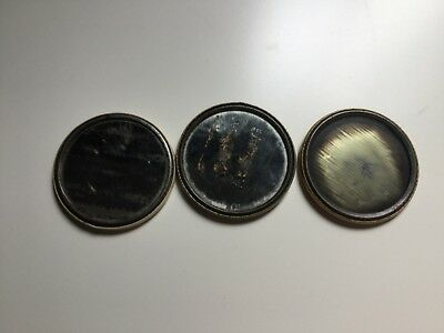Horlicks' Advertising Pocket Mirror x 3 all Different