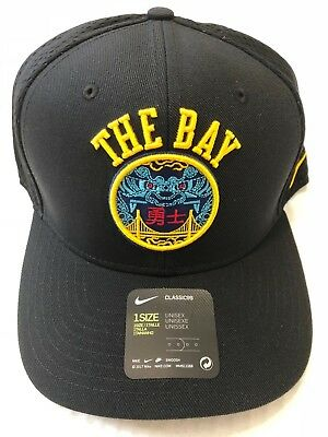 21aaba7951541 Nike Nba Golden State Warriors City Edition Classic 99 Snapback Hat  889515-011