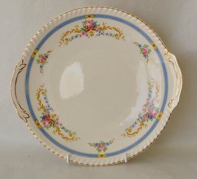 """KENT Old English Johnson Bros 10 1/4"""" plate with handles"""