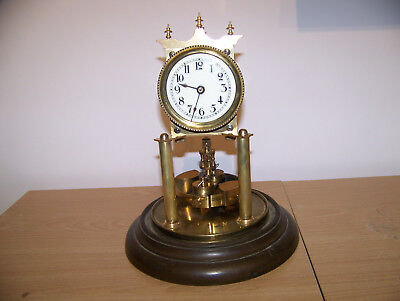 400 day clock,torsion clock,anniversary clock-temperature compensating pendulum